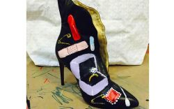 Donald Robertson Valentina Carrano shoe