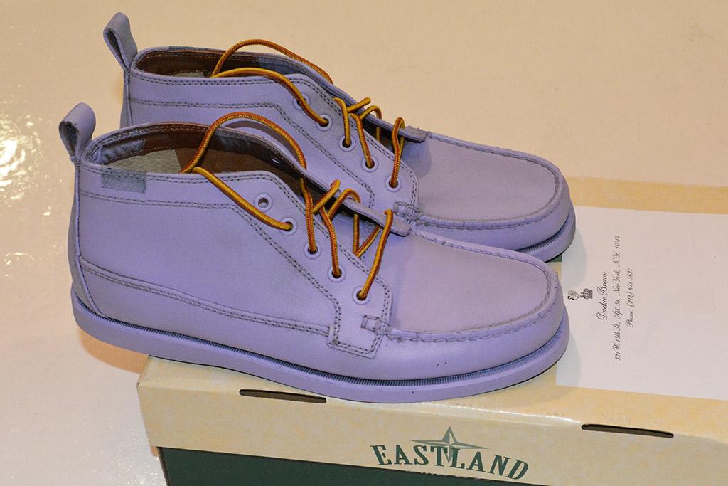 Eastland x Duckie Brown spring '16 shoes.