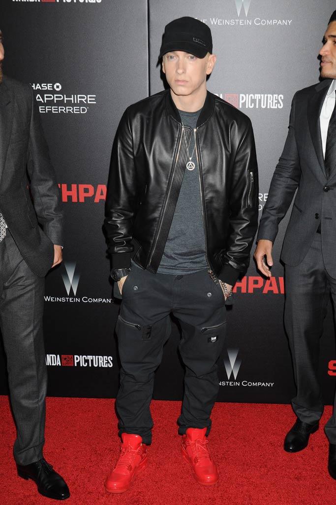 Eminem Celebrity Sneakers Style