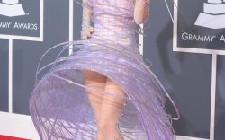 Lady Gaga in Giorgio Armani Shoes