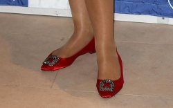 Jerry Hall Shoe Style