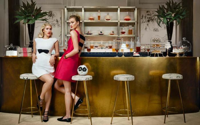 Karlie Kloss Kate Spade Fall Campaign