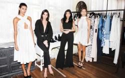 Kendall Jenner Kylie Jenner shoe line