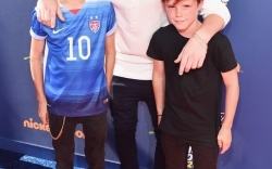 Romeo, Brooklyn, and Cruz Beckham