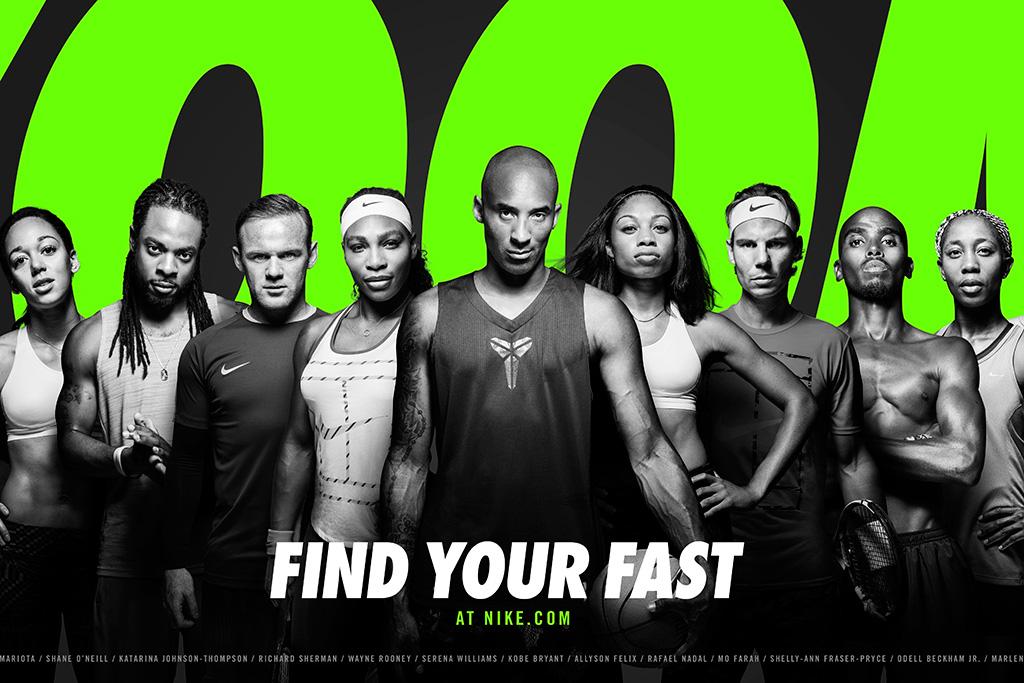 Nike Debuts Ad With 13 Athletes Fast Footwear Footwear News