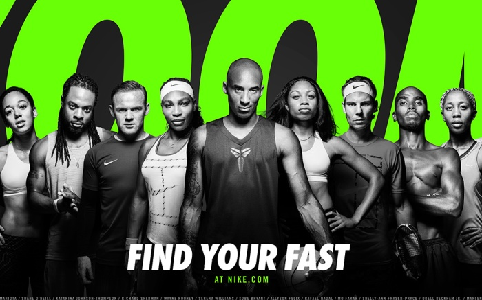 """Nike Debuts """"Find Your Fast"""" Ads"""