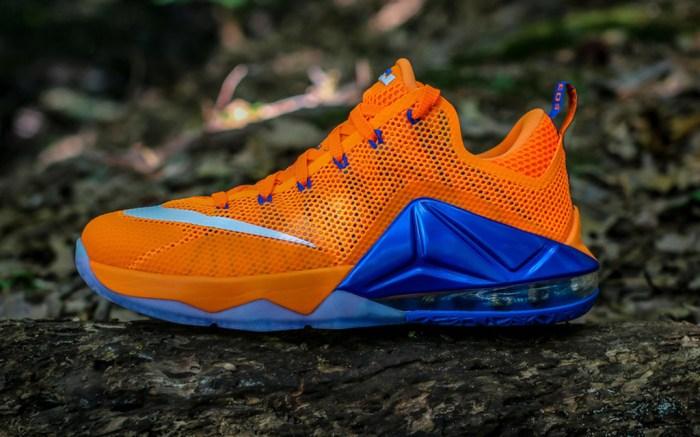 Nike LeBron 12 Low Bright Citrus Sneakers