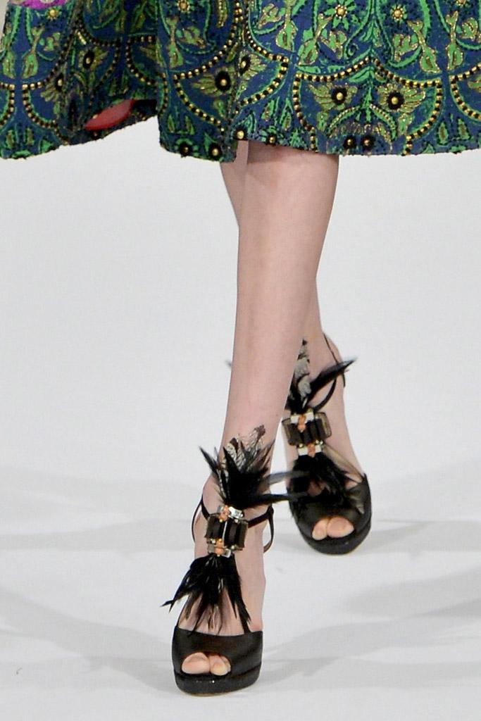 Oscar de la Renta shoes