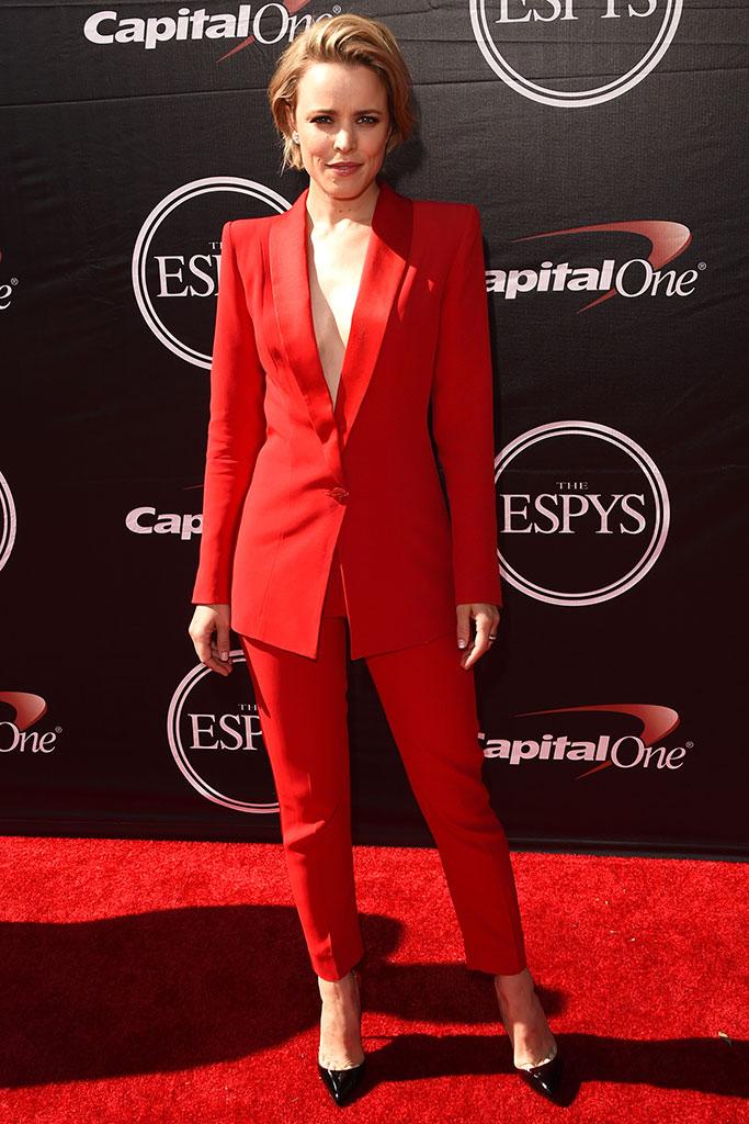 Rachel McAdams at the 2015 ESPYs
