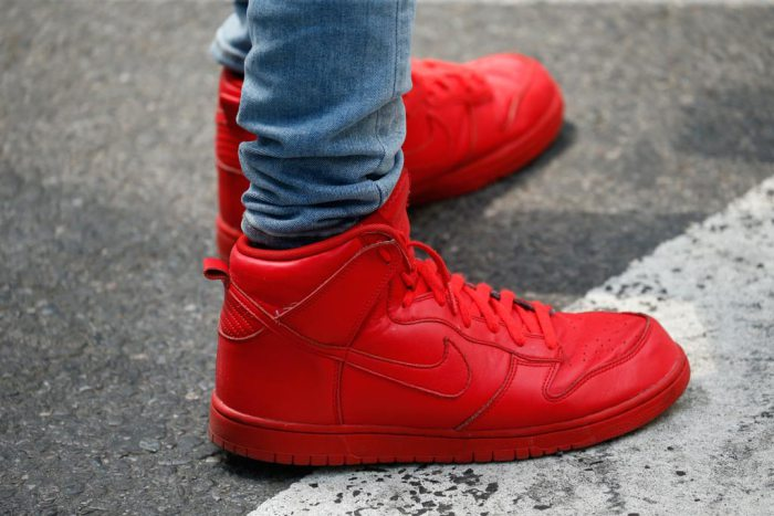 Street Style Red Sneakers
