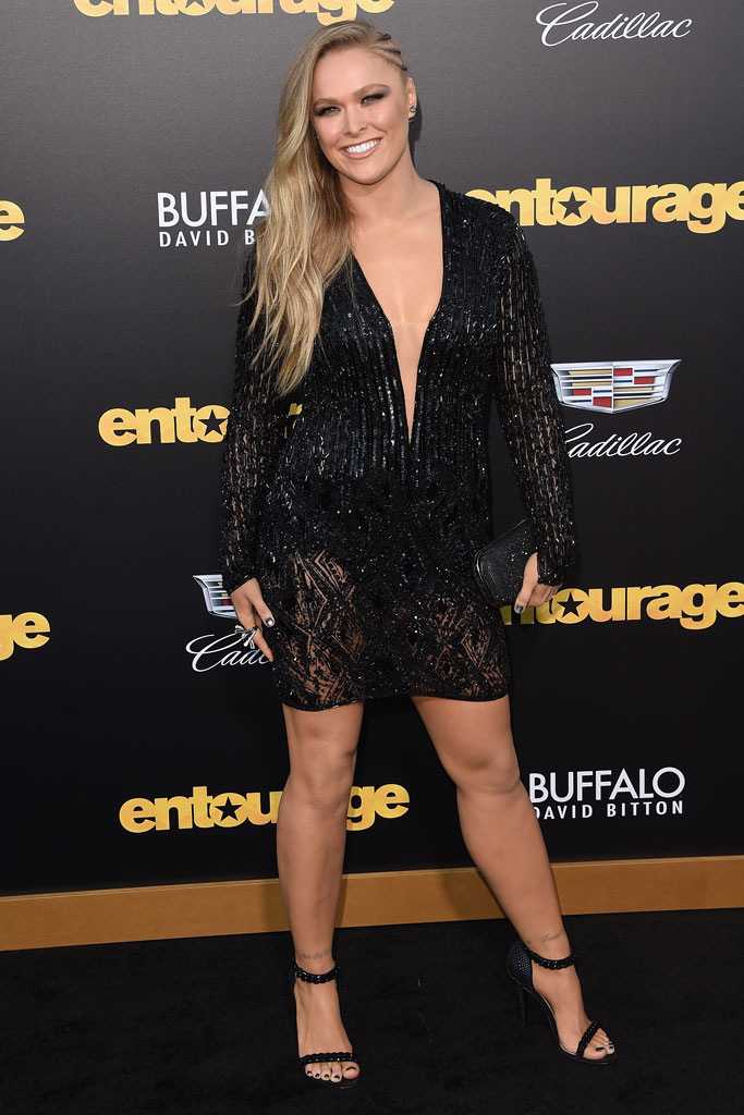 Photos Ronda Rousey S Celebrity Shoe Style Footwear News