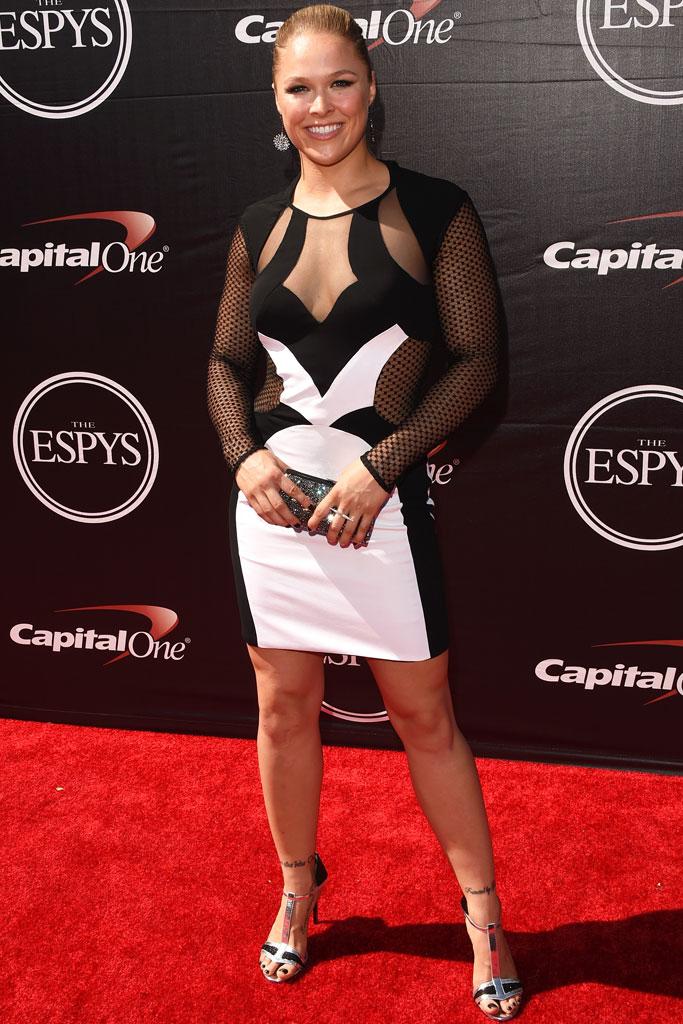 Photos Ufc S Ronda Rousey S Knockout Shoe Style Medinatheatre News
