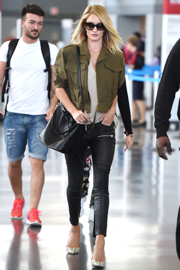 Rosie Huntington-Whitley Airport Shoe Style