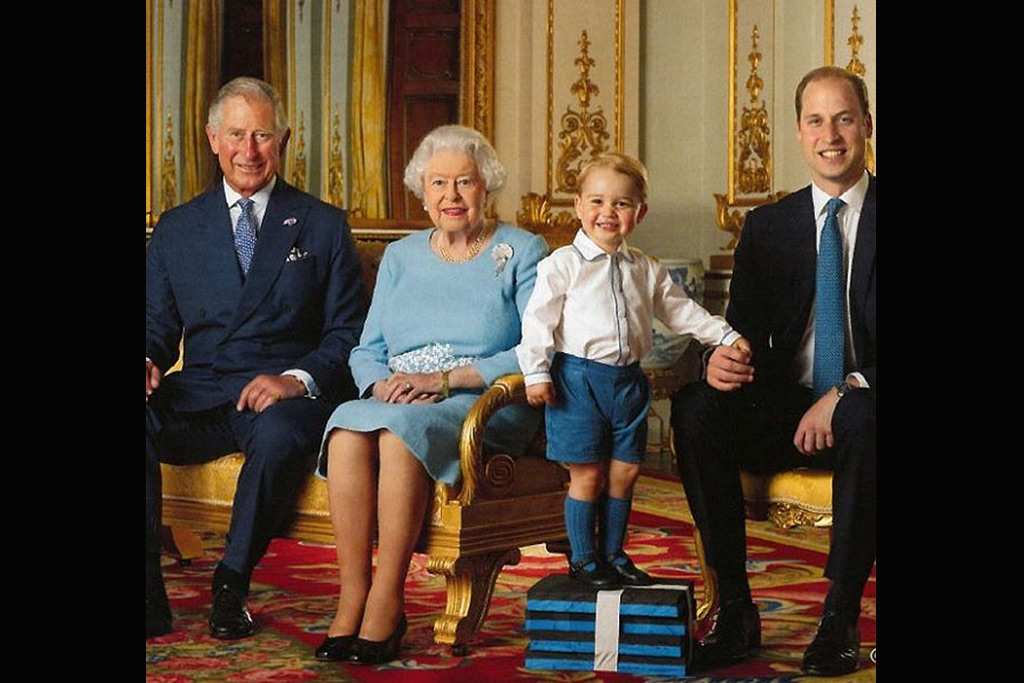 The Royal Family Stamps