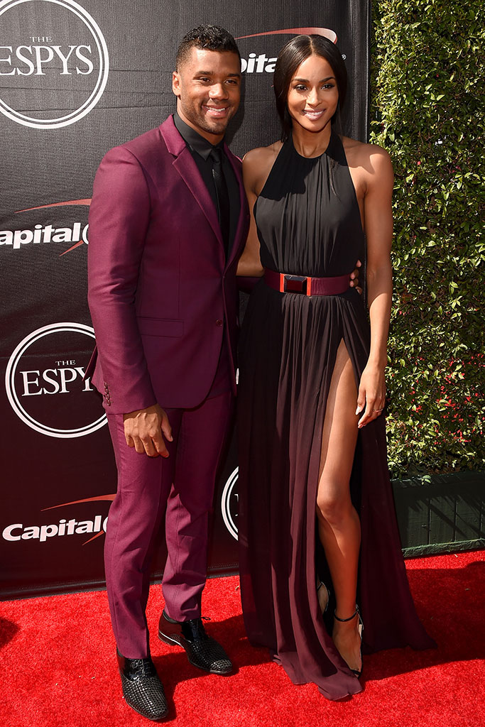 Russell Wilson at the 2015 ESPYs