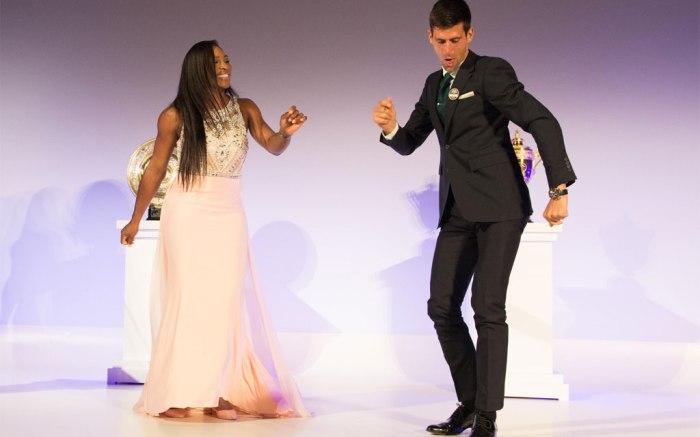 Serena Williams, Novak Djokovic Wimbledon