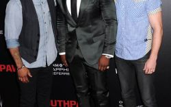 Omari Hardwick, 50 Cent, and Joseph Sikora