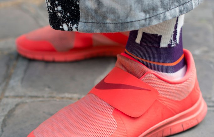 Street Style: Red Sneakers