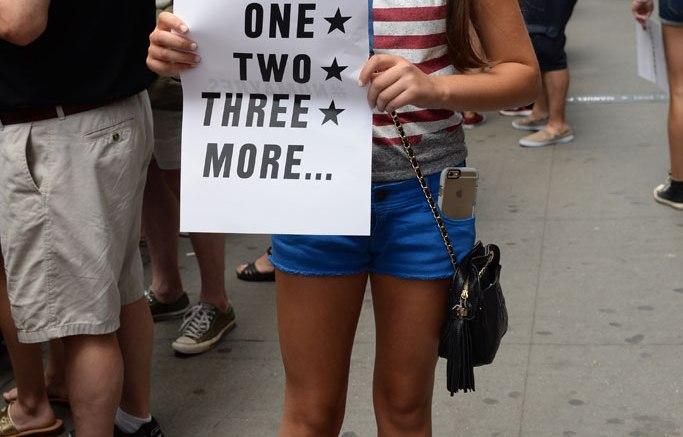 US Women's Soccer Parade Street Style