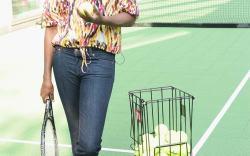 Venus Williams in McQueen
