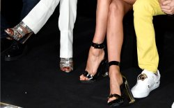 Atelier Versace Couture Front Row Shoe Style