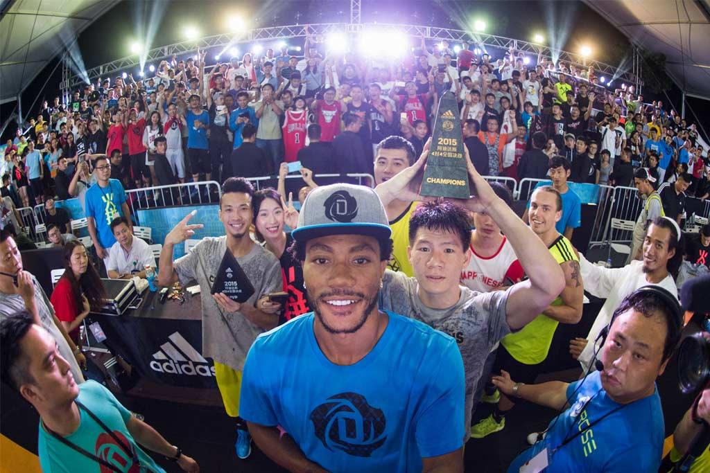 Adidas; Derrick Rose