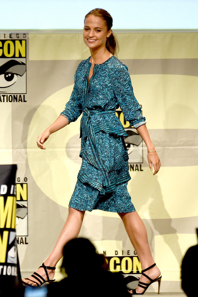 Alicia Vikander The Man From Uncle Shoes