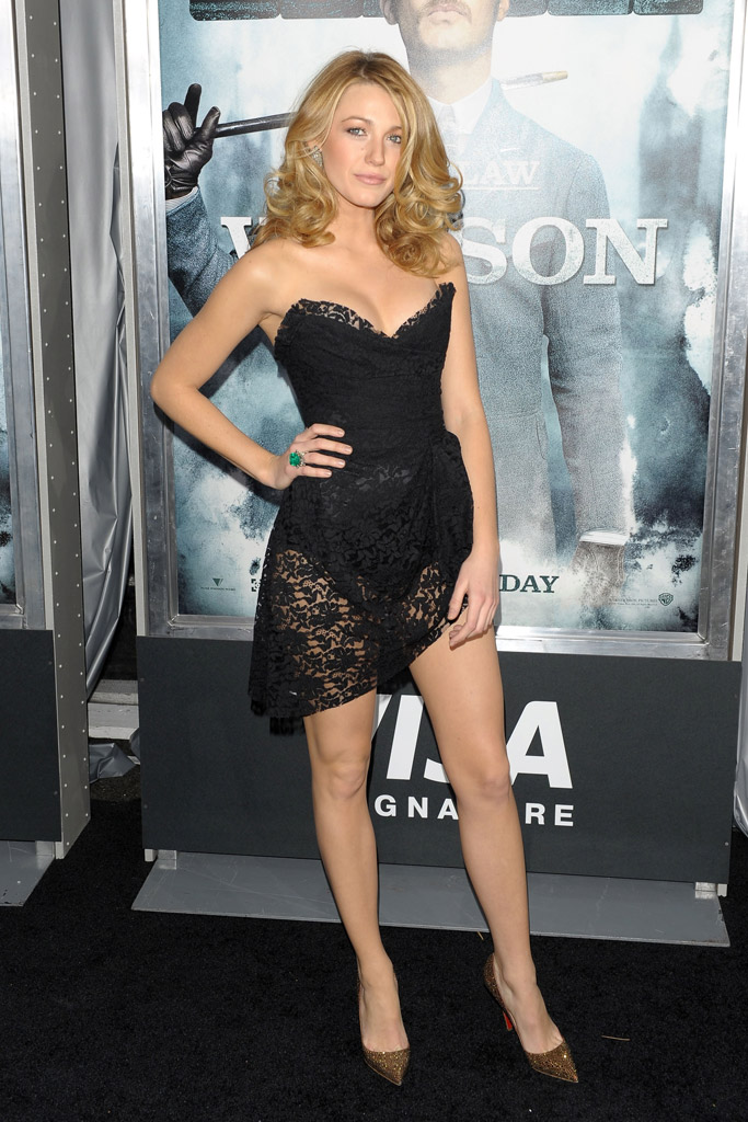 Blake Lively Shoes Style
