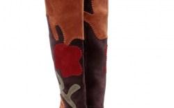 Burberry Prorsum thigh-high boots
