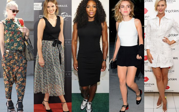Celebrity Statement Shoes Poll Aug. 28