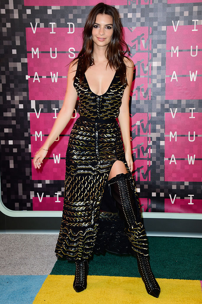Emily Ratajkowski MTV Video Music Awards 2015