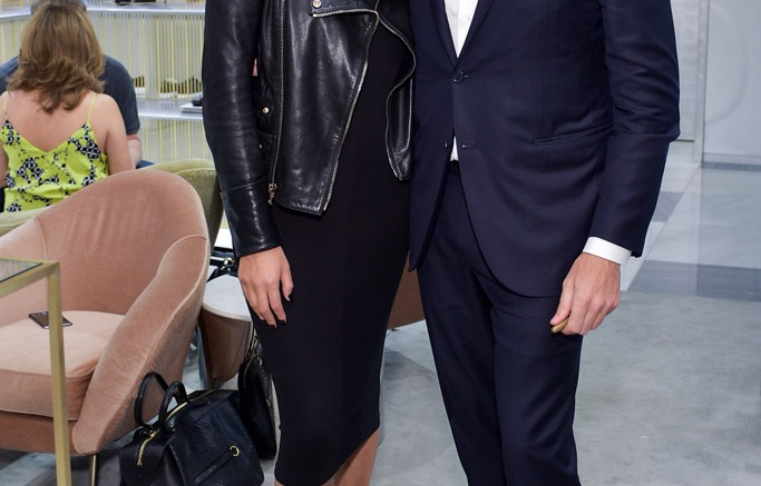 Gianvito Rossi and Chrissy Teigen