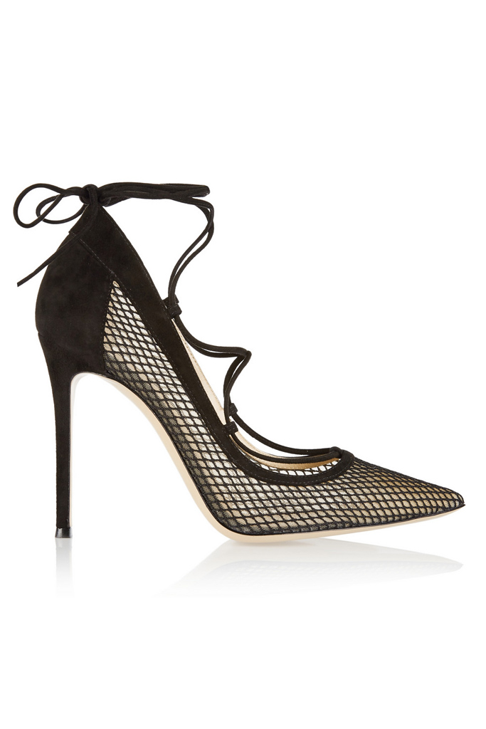 gianvito rossi lace-up heel