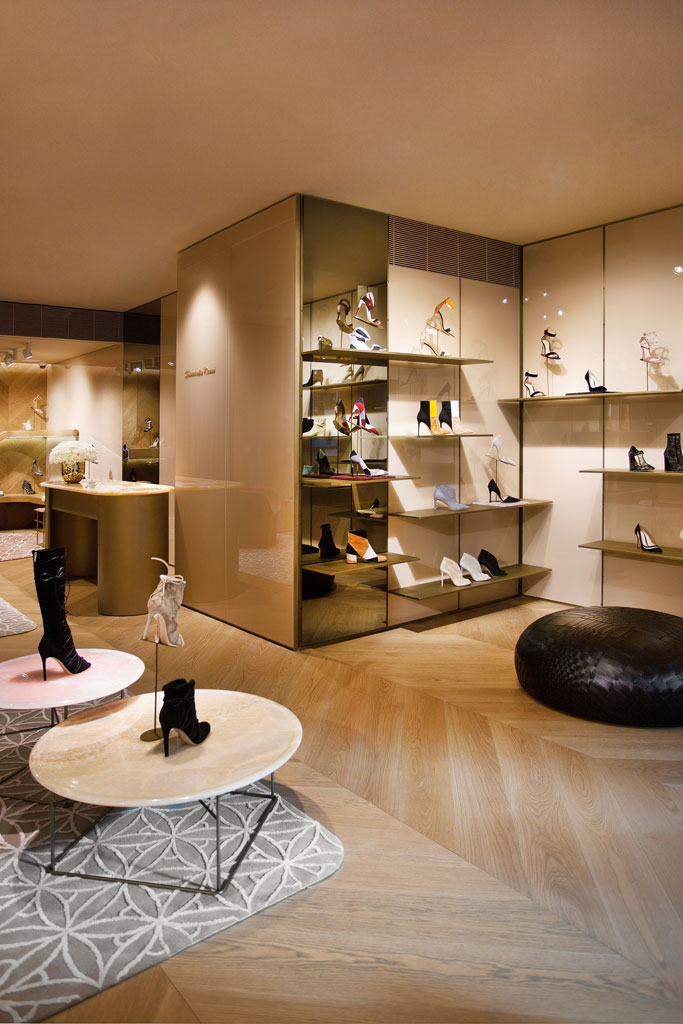 Gianvito Rossi's New York store
