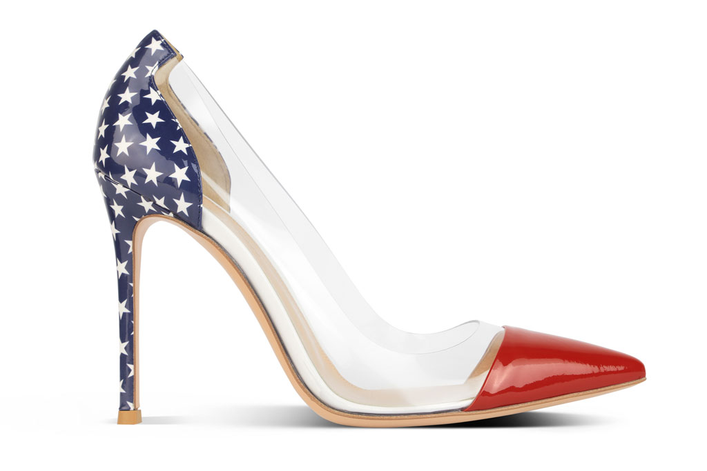 Rossi's exclusive shoe for the New York boutique.