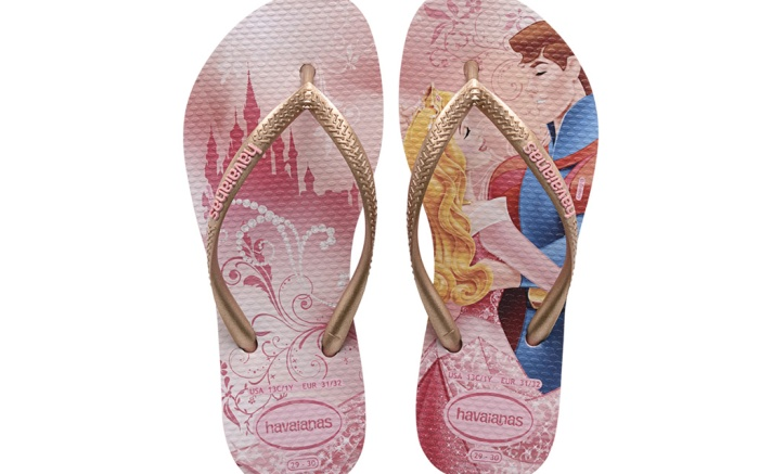 Havaianas Partners with Disney