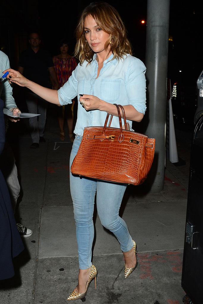 Jennifer Lopez Wearing Christian Louboutin Pumps