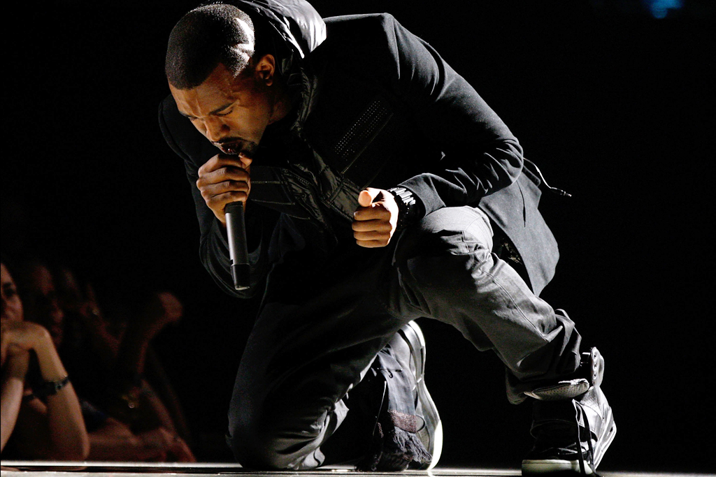 Kanye West's Worn Nike Air Yeezy