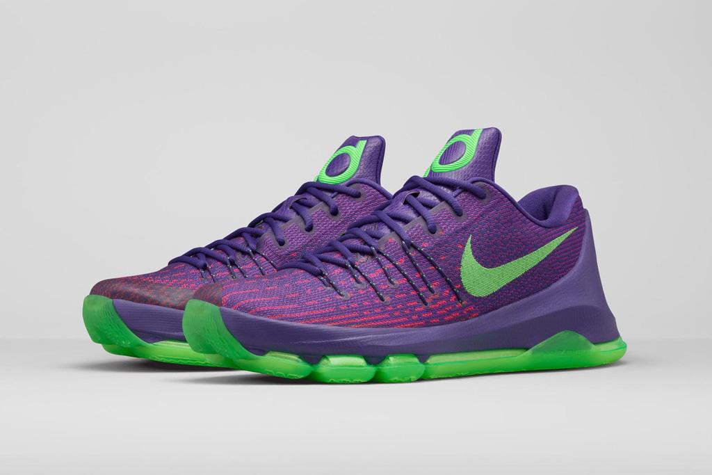 kd purple shoes