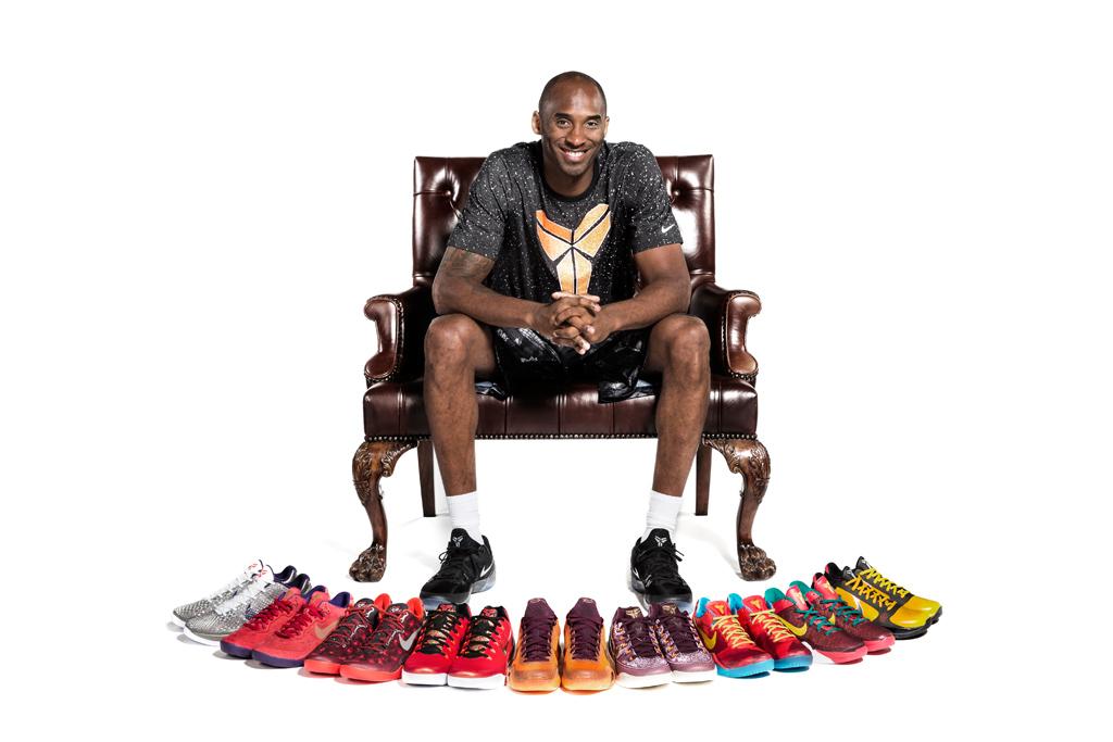 Kobe Bryant Nike Sneakerd