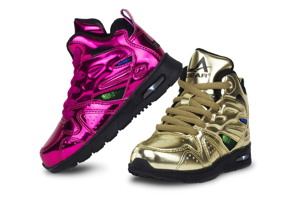 L.A. Gear Relaunches Kids' Shoe Line