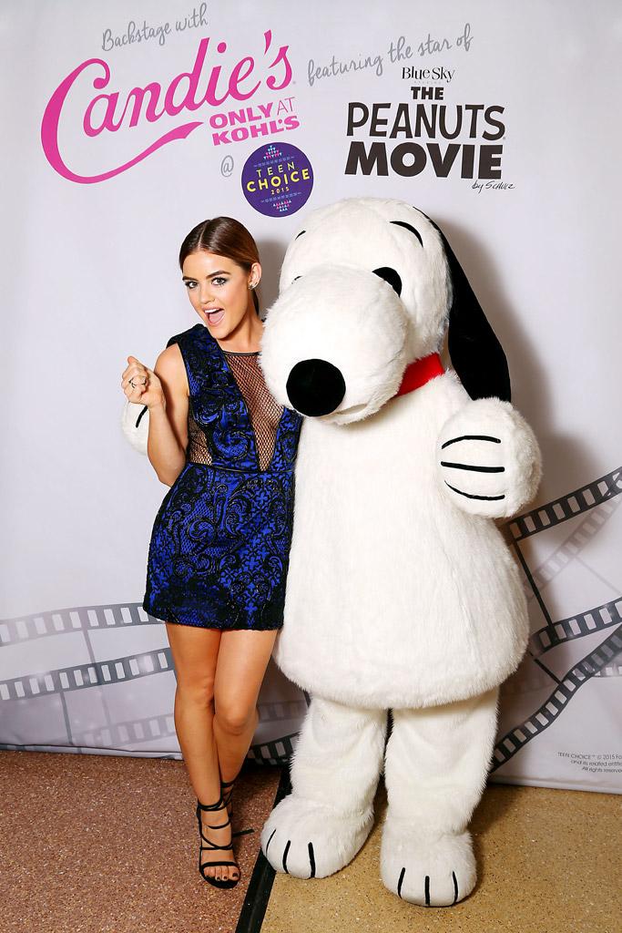 Lucy Hale Teen Choice Awards 2015
