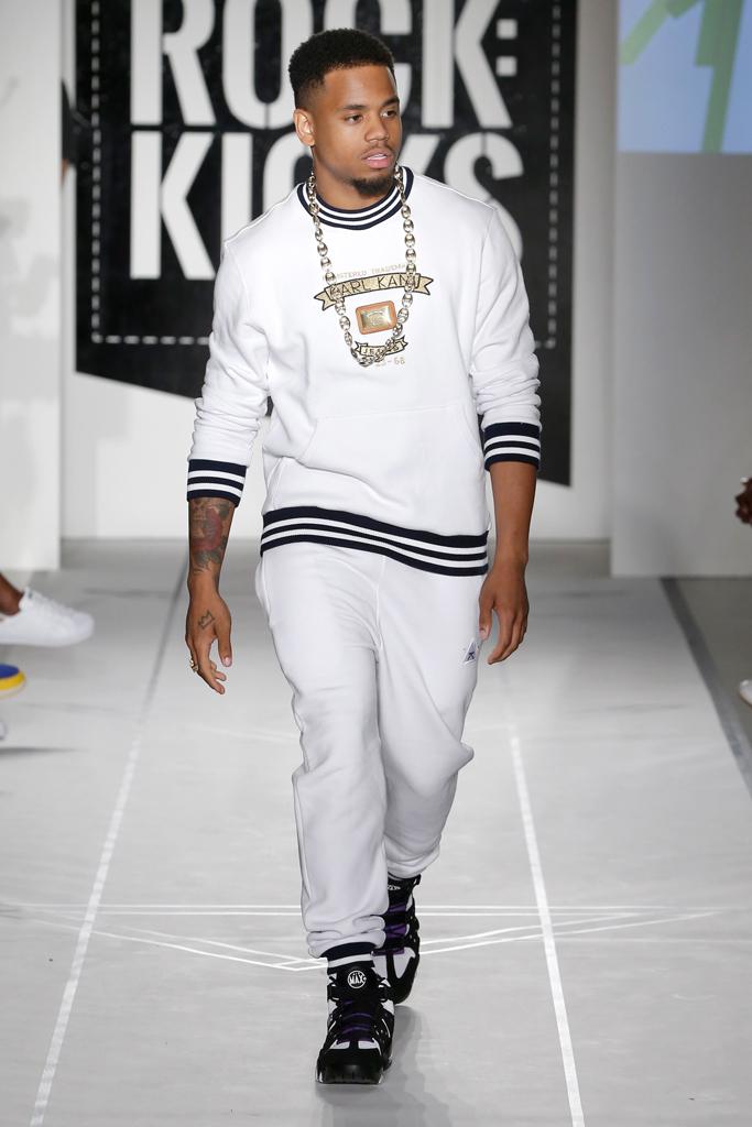 Mack Wilds BET Celebrity Sneakers