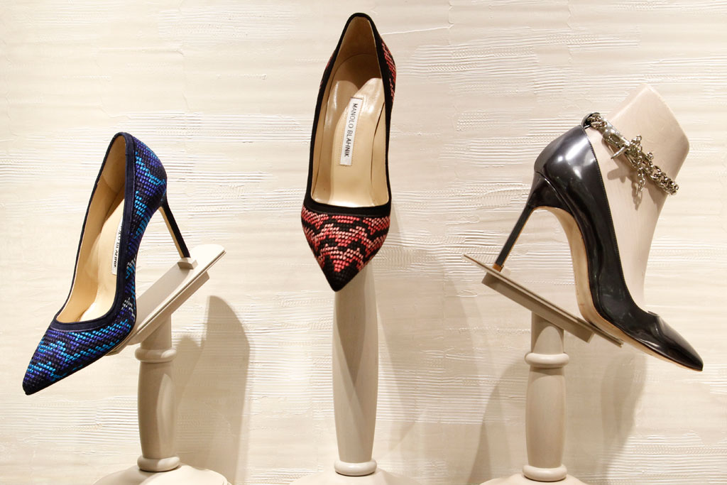 Inside The Manolo Blahnik Boutique At