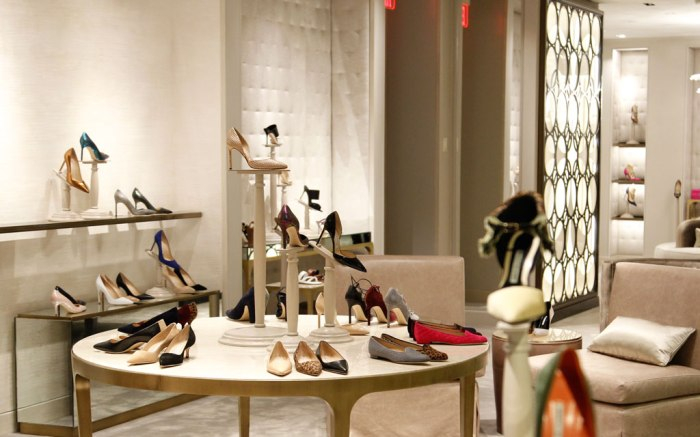 Manolo Blahnik Shoes Store Saks Fifth Ave NYC