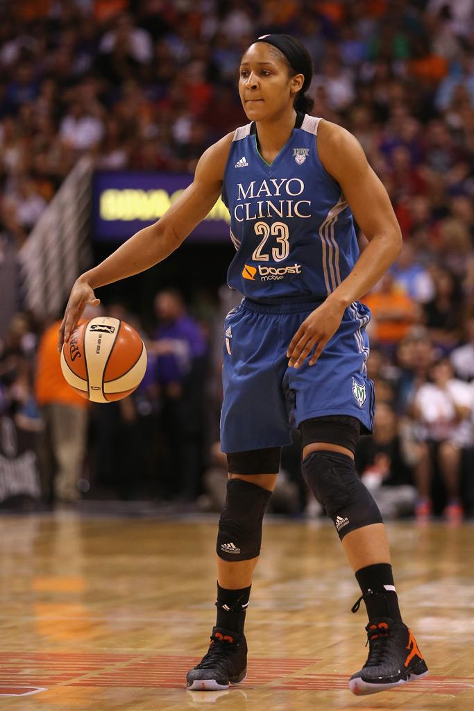 WNBA Star Maya Moore Heads Toward