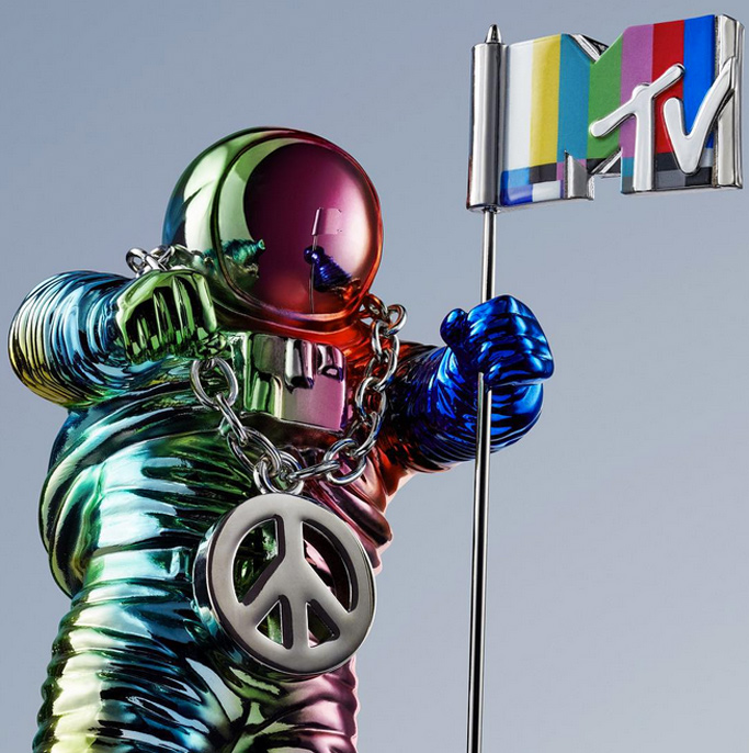 MTV Moon Man Jeremy Scott