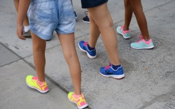 Street Style: Neon Sneakers