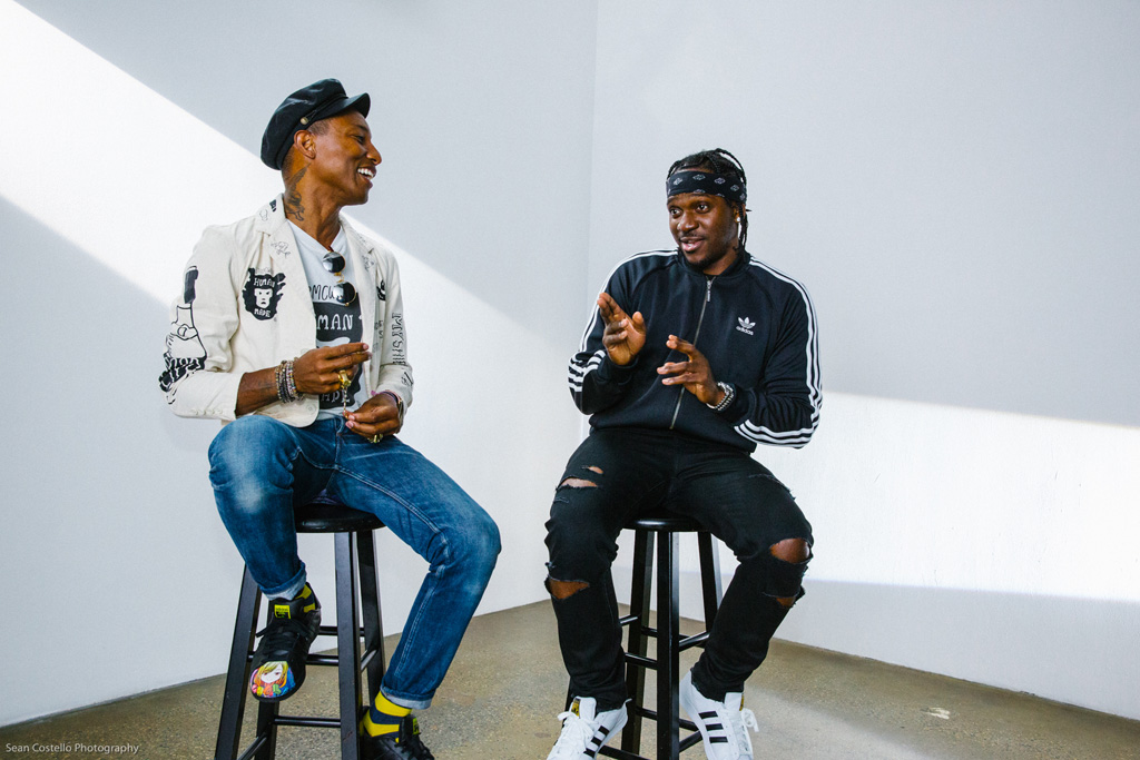 Pharrell Williams and Pusha T