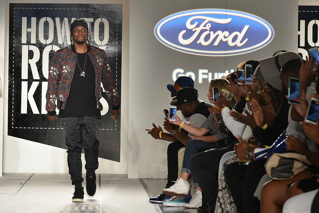 Pusha T Celebrity Sneakers Style